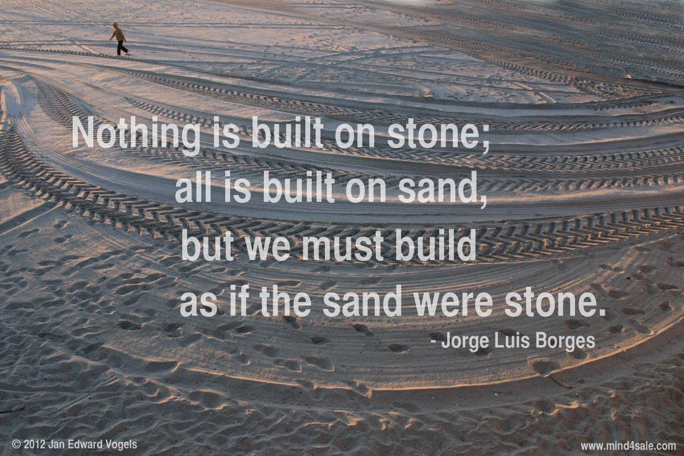 Jorge Luis Borges, quote, Canon EOS