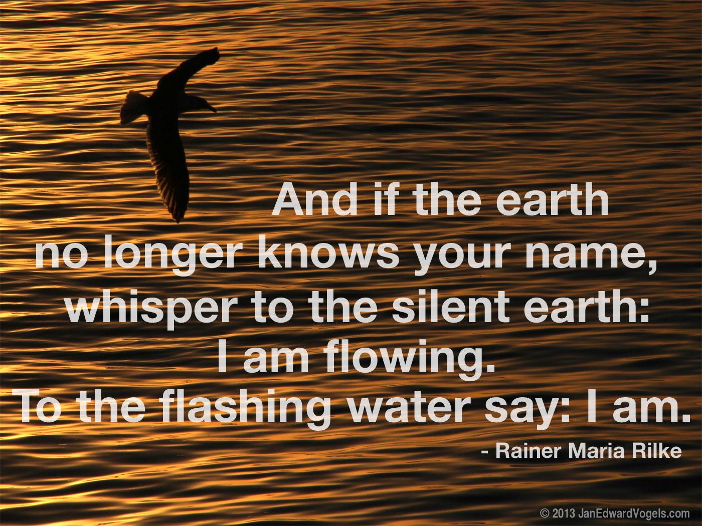 Rainer Maria Rilke, quote